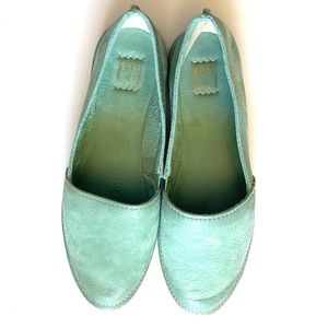 FRYE Leather Milly slip on flats